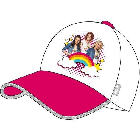 Cap K3 roze regenboog
