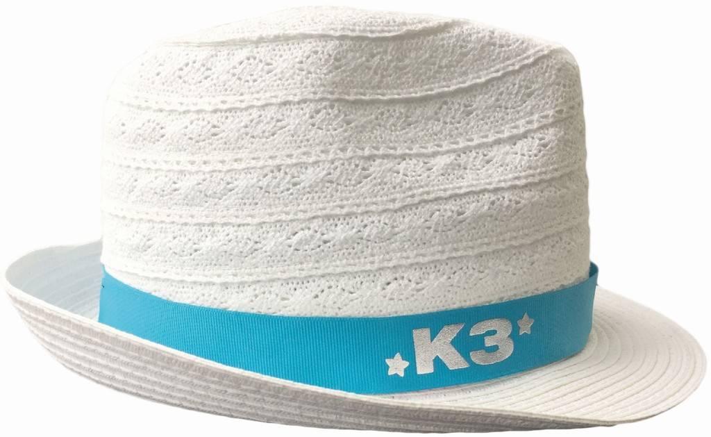 Hoedje K3 wit linnen