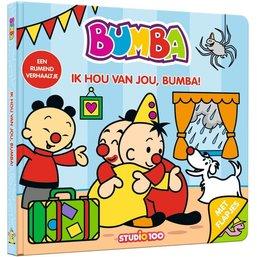 Bumba Kartonboek - Ik hou van jou