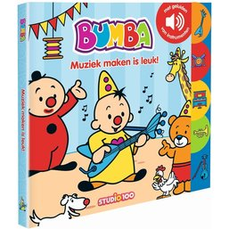 Bumba Boek - Muziek maken is leuk