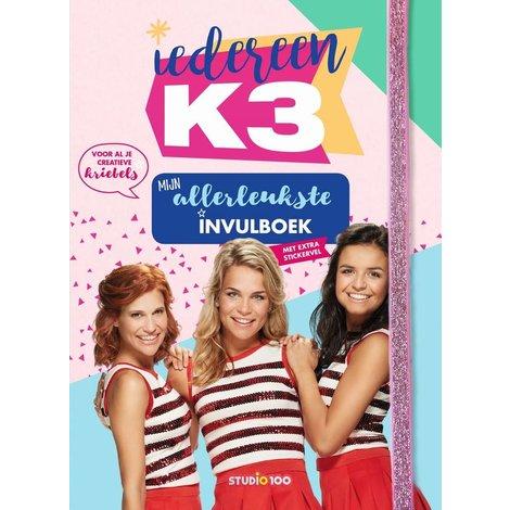 Doeboek K3: Mijn allerleukste invulboek