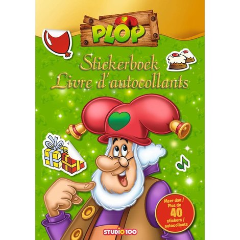 Kabouter Plop Stickerboek