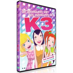 K3 DVD - Les aventures de K3 vol. 2