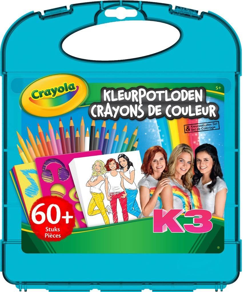 Tekenkoffer kleurpotloden K3