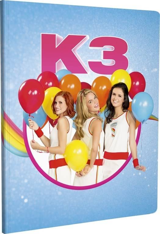 Schrift K3 A5 gelijnd