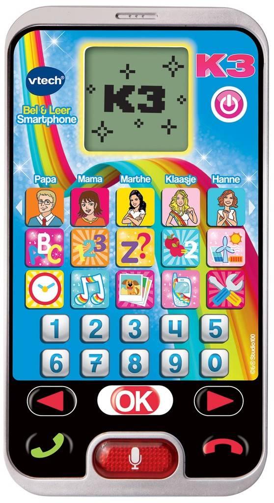 Bel & leer telefoon K3 Vtech: 3+ jr