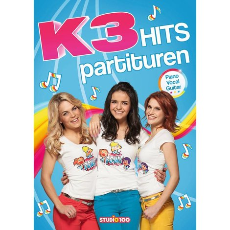 Boek K3: partiturenboek