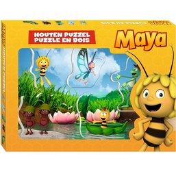 Puzzel Maya hout: 5 stukjes