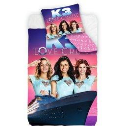 Dekbed K3 Love Cruise: 140x200 cm/65x65 cm