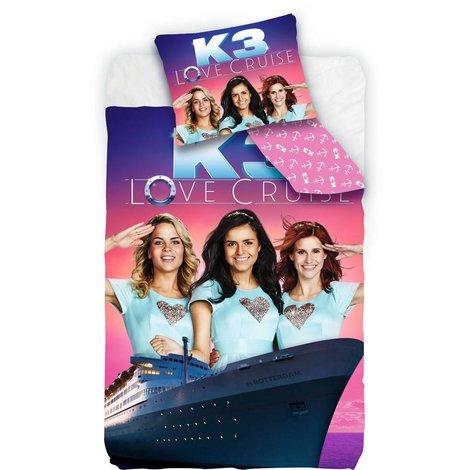 K3 Dekbedovertrek - Love Cruise 140x200 cm