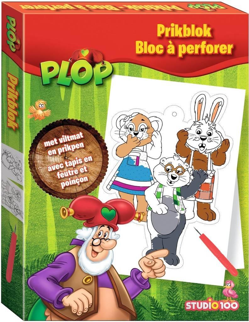 Bloc à perforer Plop & les Peppers
