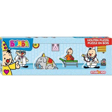 Puzzle Bumba - Mini docteur, 4 pièces