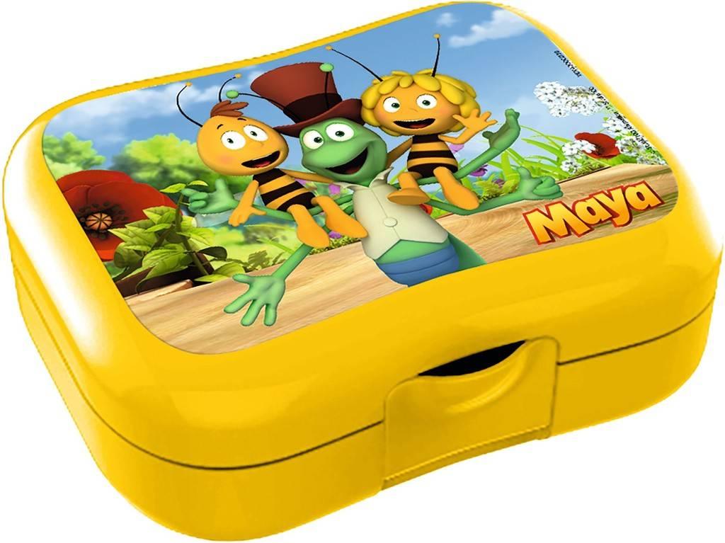 Boîte à tartines Maya l'abeille - jaune
