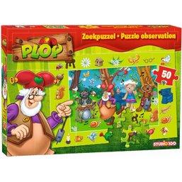 Puzzle Plop & les Peppers - 50 pièces