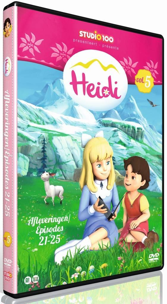 Dvd Heidi: Heidi vol. 5