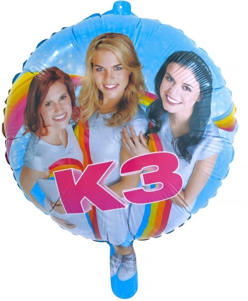 K3 Ballon en aluminium - 46 cm