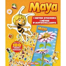 Livre de stickers Maya l'abeille - 1 mètre