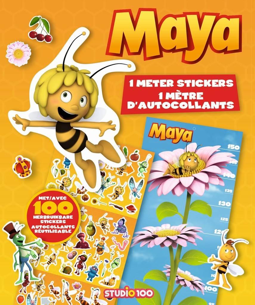 Stickerboek Maya: 1 meter