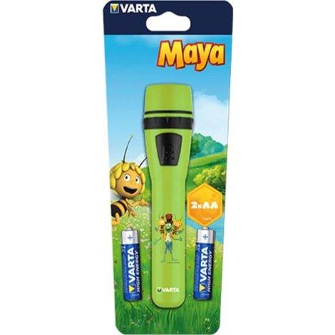 Zaklamp Varta: Maya groen
