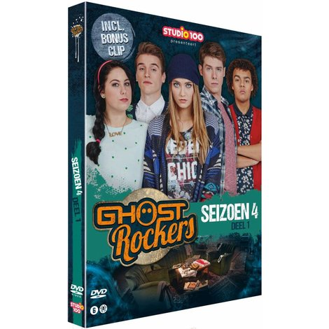 Dvd Ghost Rockers: seizoen 4 vol. 1