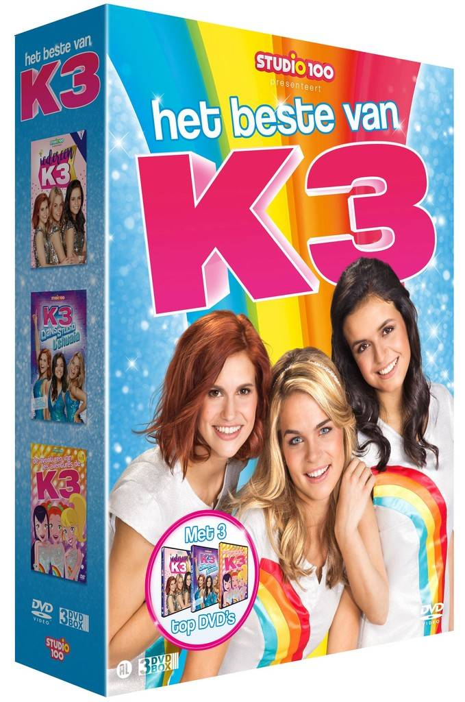 Dvd box K3: K3 vol. 1
