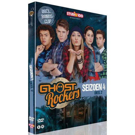 Dvd box Ghost Rockers: seizoen 4 vol. 2