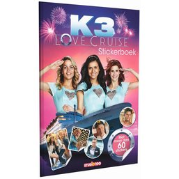 K3 Stickerboek - Love Cruise