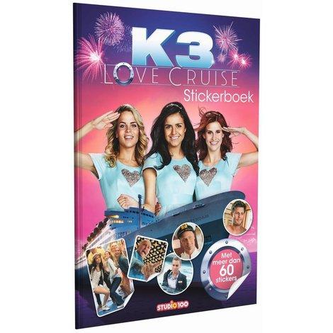 K3 Stickerboek - Love Cruise