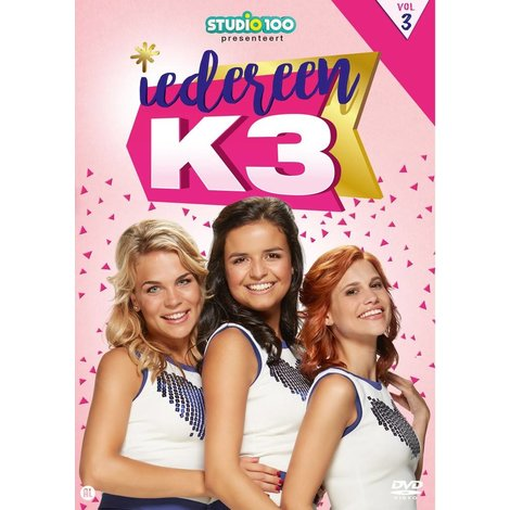Dvd K3: iedereen K3 vol. 3