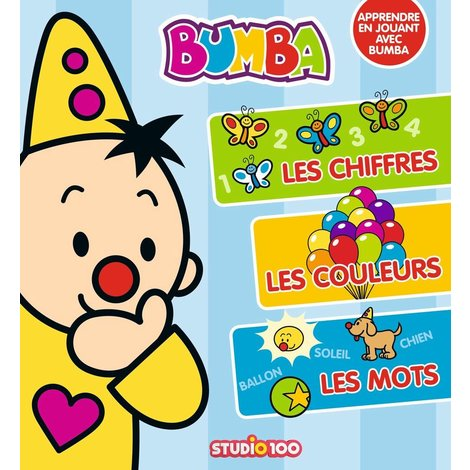 Livre Bumba- J'apprends les chiffres