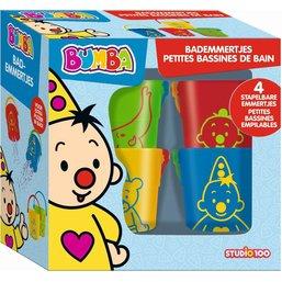Petits seaux de bain Bumba - 4 pièces