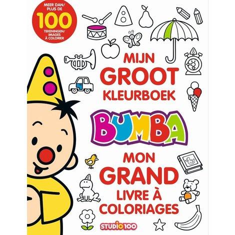 Mon Grand Livre de coloriage Bumba