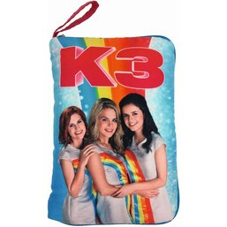 Kussen K3 met geheime vakken: 26x18 cm