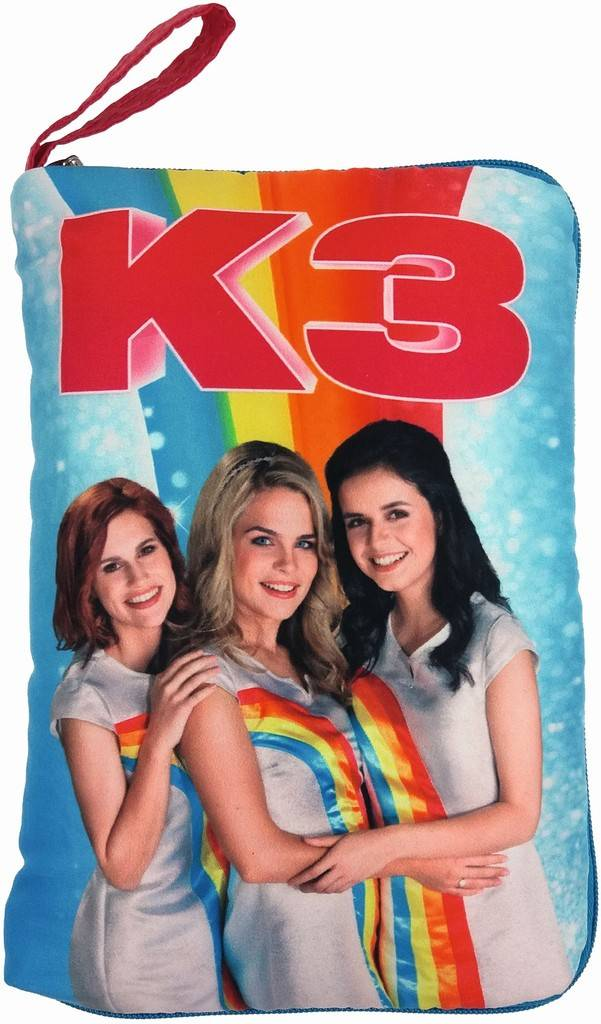 Oreiller avec poche à secrets K3