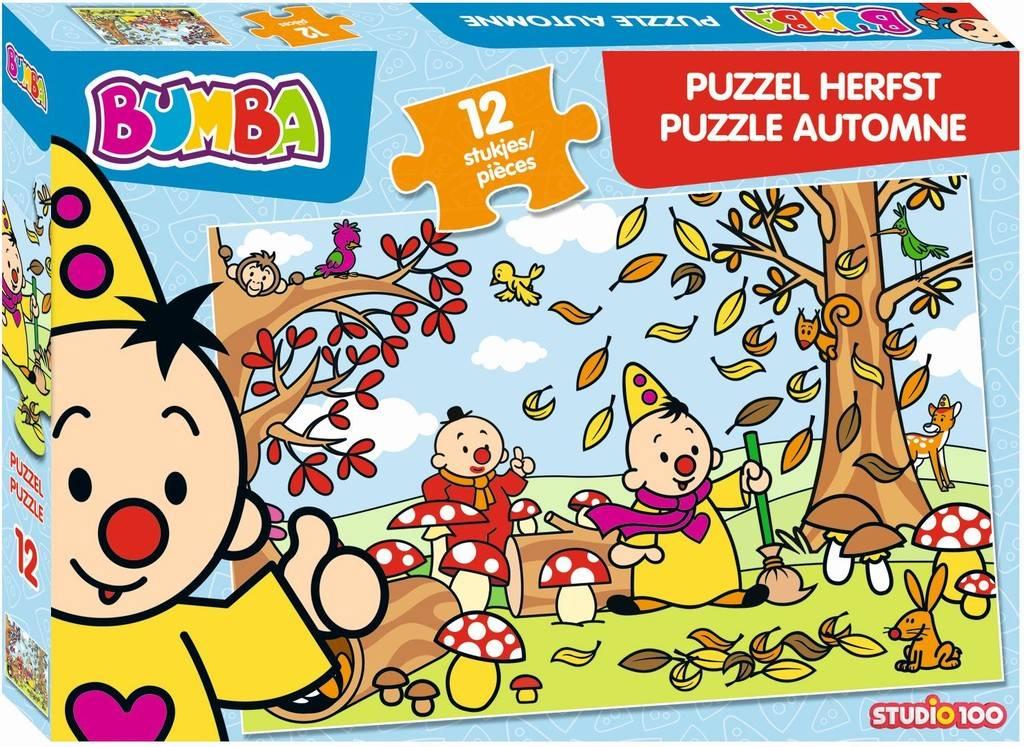 Puzzel Bumba herfst: 24 stukjes