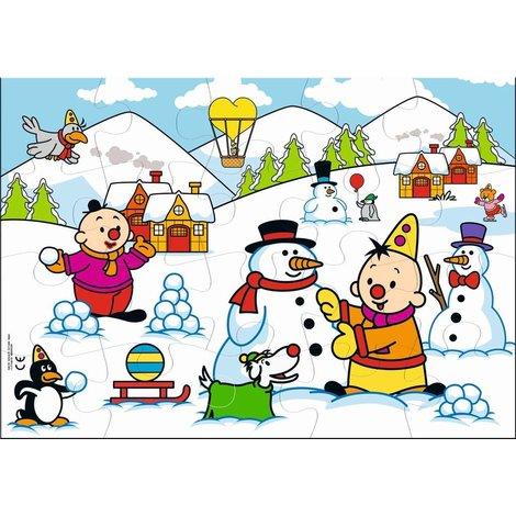 Bumba Puzzel - Winter 20 stukjes