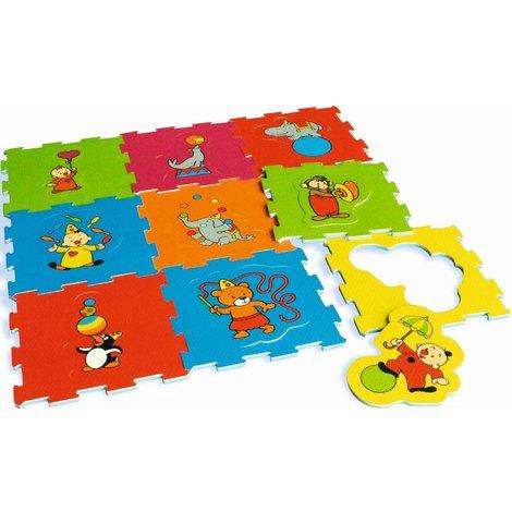 Tapis-puzzle en mousse Bumba - 90x90 cm