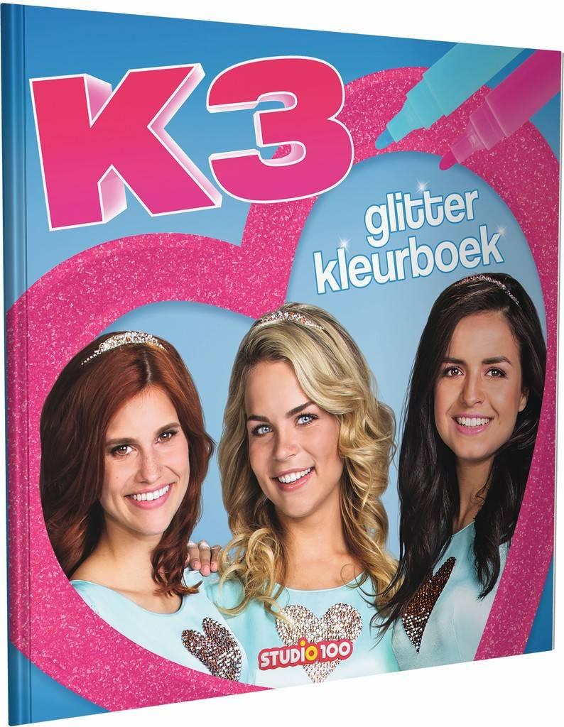 Livre à colorier K3 - Paillettes