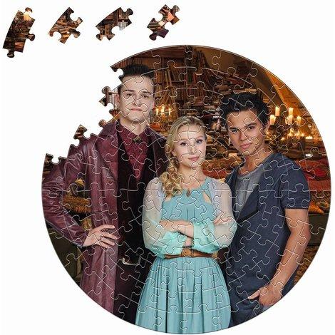 Puzzle rond Garde de Nuit - 100 pièces