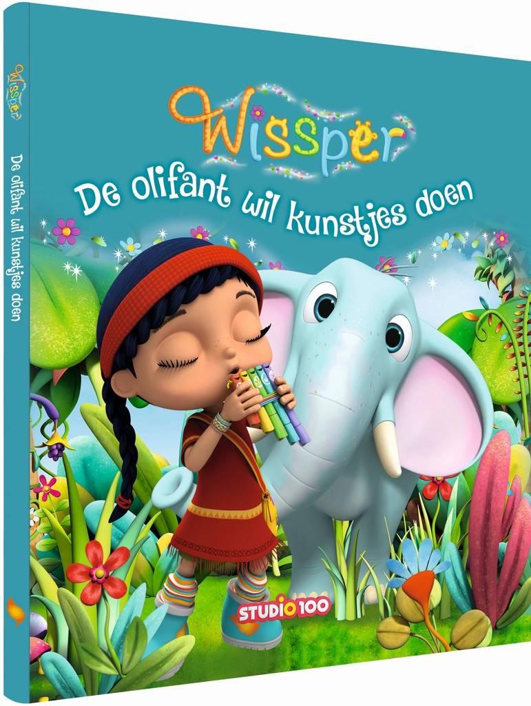 Boek Wissper: Olifant wil kunstjes doen