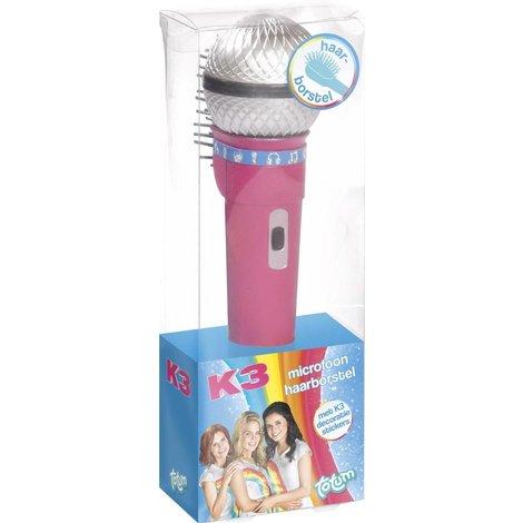 K3 Brosse à cheveux Microphone