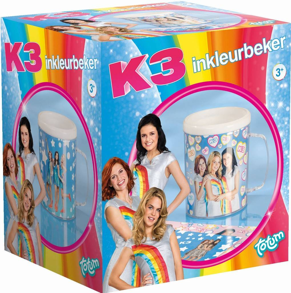 Inkleurbeker K3 ToTum