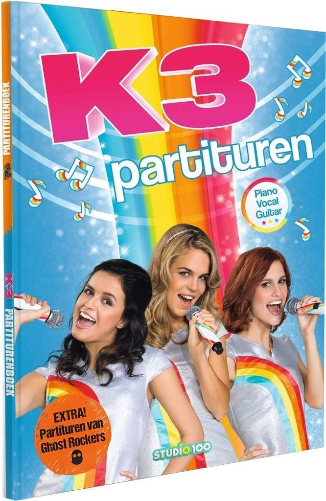 K3 en Ghostrockers Partiturenboek