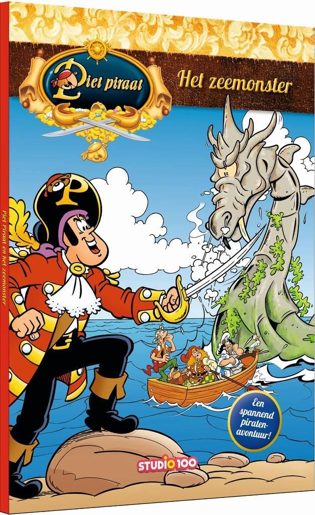 Piet Piraat Boek - Het zeemonster