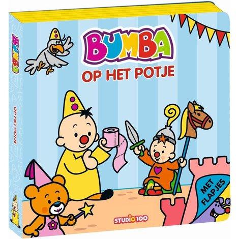 Bumba Boek foam - Op het potje
