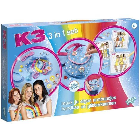 Creativity Set K3 ToTum: 3 in 1