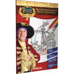 Mon livre de gribouillages Pat le Pirate