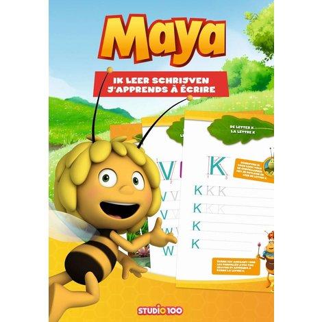 Boek Maya: Ik leer schrijven