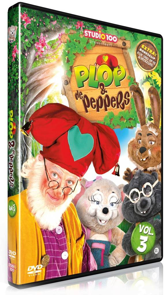 Dvd Plop: Plop en de Peppers vol. 3