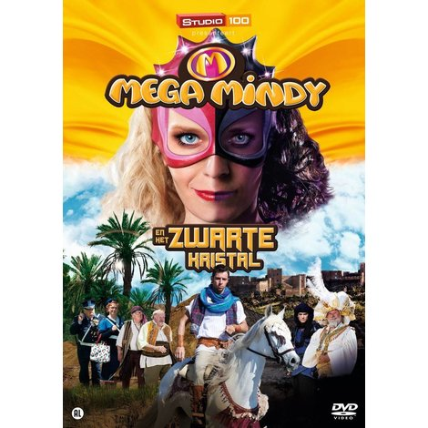Dvd Mega Mindy: het zwarte kristal